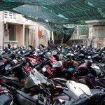 Scooter parking Saigon